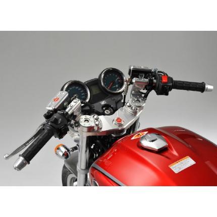 トップブリッジ&ステムSET セパレートハンドル 専用ブレーキホース付 AGRAS(アグラス) CB1100