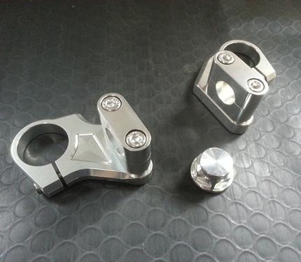 ハンドルホルダーキット ブロックタイプ(センターナット付) AGRAS(アグラス) GSR250(JBK-GJ55D)
