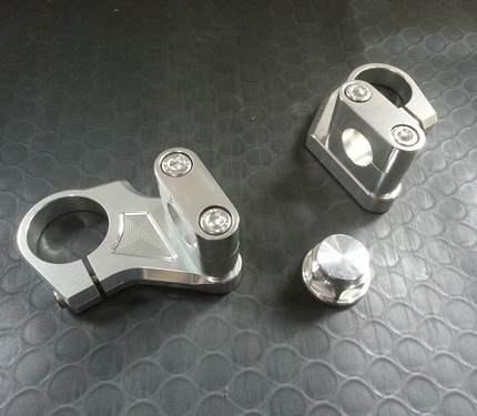 パイプハンドルセット ブロックタイプ 22.2mm径 AGRAS(アグラス) GSR250(JBK-GJ55D)