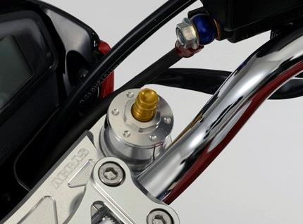イニシャルアジャスター アルミ削り出し製 AGRAS(アグラス) GSR250(JBK-GJ55D)