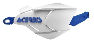 AC-22397 X-FACTORYハンドガード ホワイト/ブルー アチェルビス(ACERBIS)