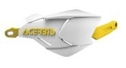 AC-22397 X-FACTORYハンドガード ホワイト/イエロー アチェルビス(ACERBIS)