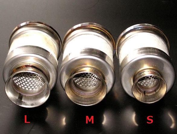 インナーバッフル Φ60ダブル Sサイズ(内径Φ24)8~15%前後の消音 Auto Magic(オートマジック)