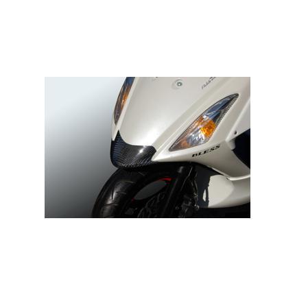 ノーズズポイラーカーボン・クリア塗装品 BLESS CREATION(ブレスクリエイション) アドレスV125S(ADDRESS)