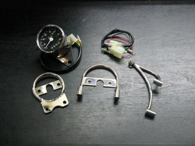 LEDインジケーター付きミニメーター&ミニメーターステーセット(車種専用) BoatRap(ボートラップ) 250TR