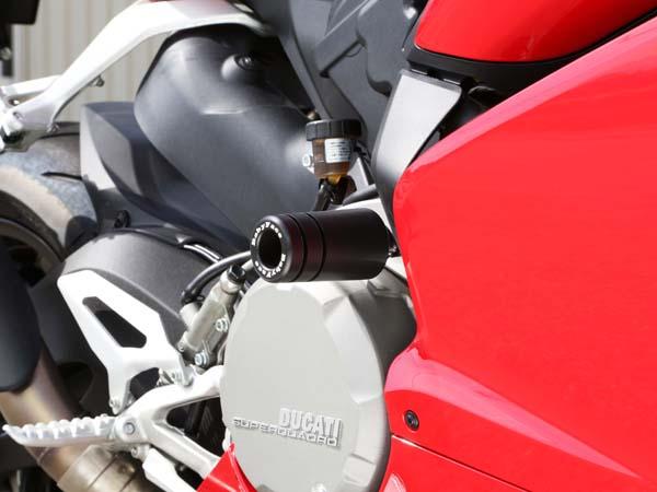 エンジンスライダー サスペンションサポート付 BABYFACE(ベビーフェイス) DUCATI 899 Panigale(14年~)