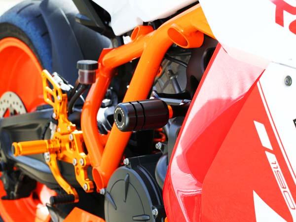フレームスライダー BABYFACE(ベビーフェイス) KTM 1190 RC8/R (08~12年)