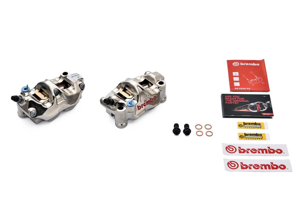 220.B010.10 ラジアルキャリパー CNC GP4-RX ニッケルコート 取付ピッチ 108mm BREMBO(ブレンボ)