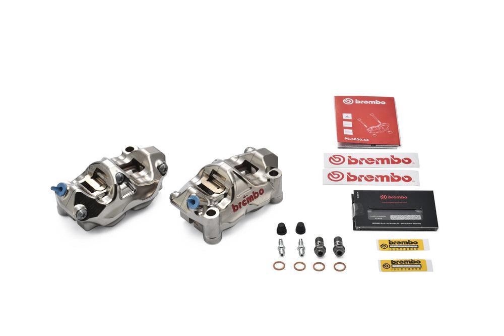 220.B010.20 ラジアルキャリパー CNC GP4-RX ニッケルコート 取付ピッチ 100mm BREMBO(ブレンボ)