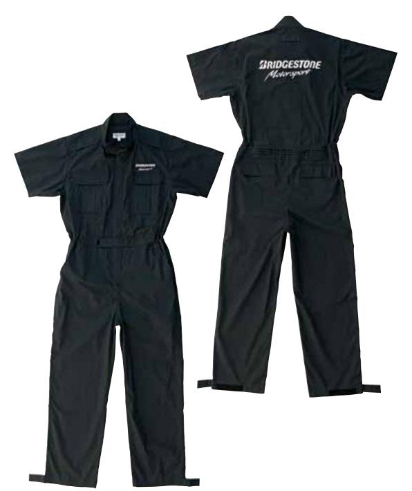 C13M15 CLUB サマーピットクルースーツ ブラック Sサイズ BRIDGESTONE(ブリヂストン用品)