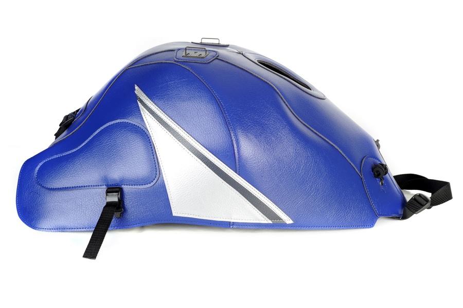 タンクカバー ブルー/シルバー/グレー BAGSTER(バグスター) GSX1300R HAYABUSAハヤブサ(15年)