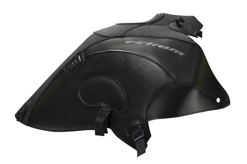 タンクカバー ブラック/マットブラック BAGSTER(バグスター) V-STROM(DL650)V-ストローム12~15年