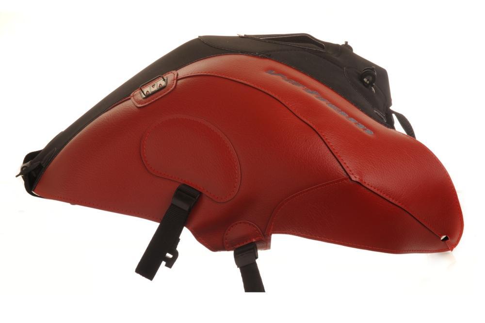 タンクカバー レッド/マットブラック BAGSTER(バグスター) V-STROM(DL650)V-ストローム12~15年