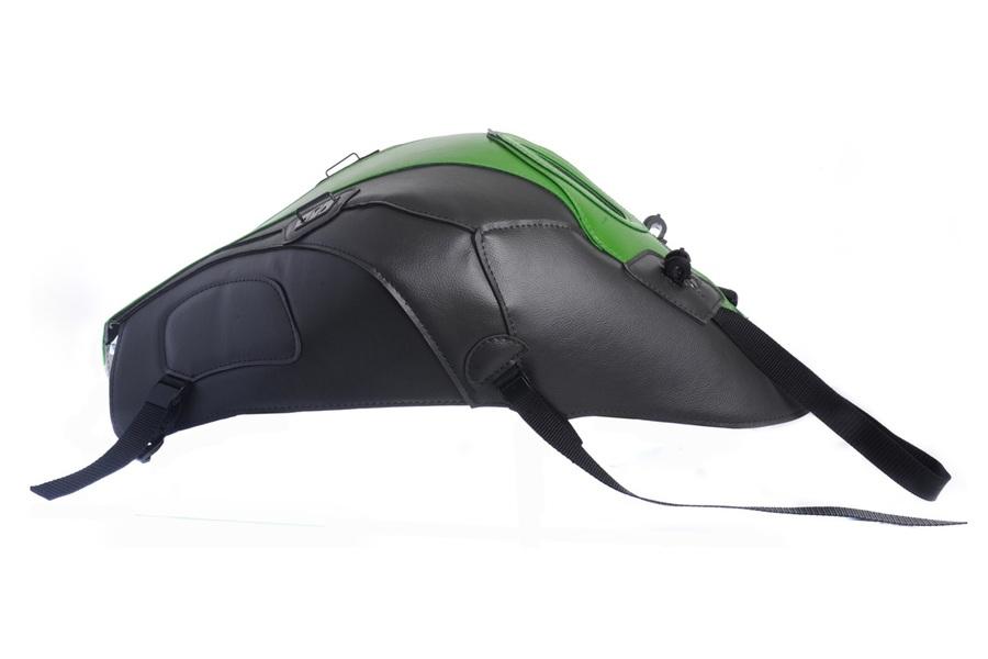 タンクカバー ダークグレー/グリーン BAGSTER(バグスター) Z1000(14~15年)