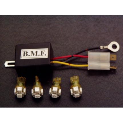 LEDウインカーバルブ・デジタルリレーセット ビームーンファクトリー(B-MoonFactory) リトルカブ