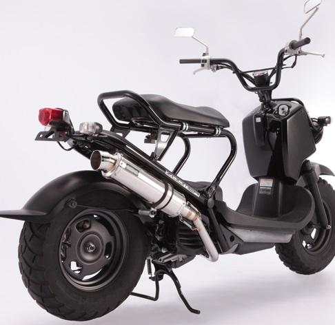R-EVO(レーシングエヴォ)マフラー ステンレスサイレンサー BEAMS(ビームス) ズーマー(ZOOMER)インジェクション車
