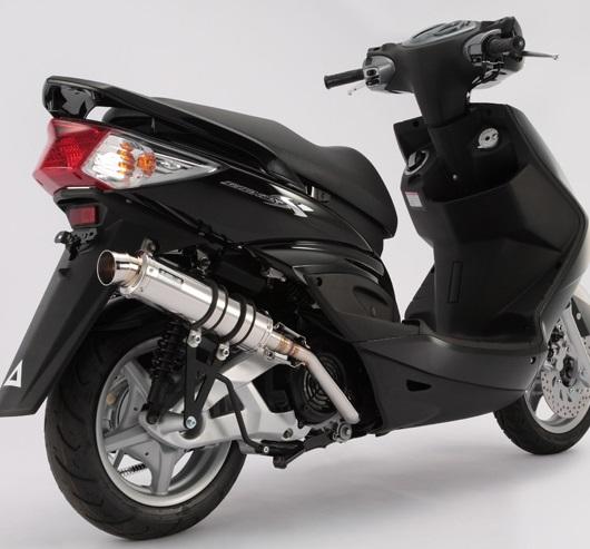 R-EVO(レーシングエヴォ)マフラー ステンレスサイレンサー BEAMS(ビームス) シグナスX台湾車・O2センサー取付対応