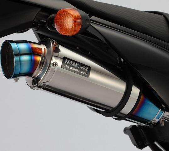 R-EVO(レーシングエヴォ) チタンサイレンサー BEAMS(ビームス) Dトラッカー125(D-TRACKER)