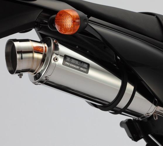 R-EVO(レーシングエヴォ) ステンレスサイレンサー BEAMS(ビームス) Dトラッカー125(D-TRACKER)