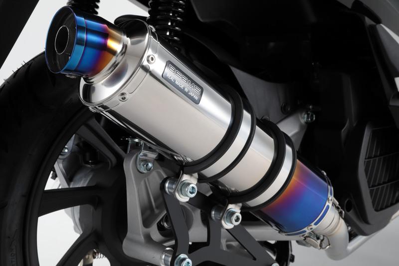 R-EVO マフラー ヒートチタンサイレンサー 政府認証 BMS-R(ビームス) PCX125(2BJ-JF81)