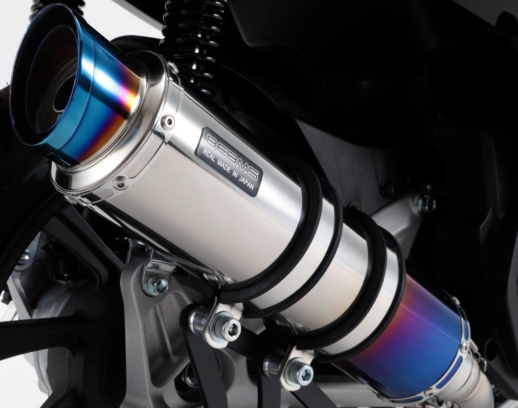 R-EVO2 マフラー ヒートチタンサイレンサー 政府認証 BMS-R(ビームス) PCX125(2BJ-JF81)