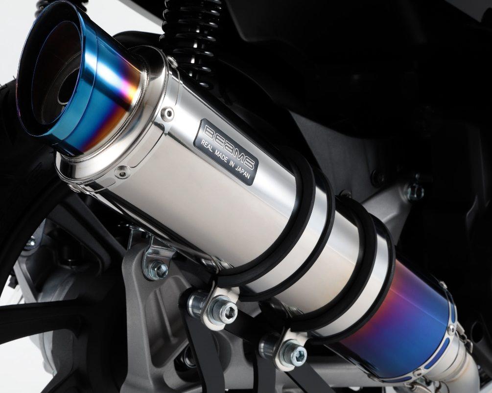 R-EVO2 マフラー ヒートチタンサイレンサー 政府認証 BMS-R(ビームス) PCX150(2BK‐KF30)