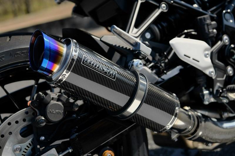 R-EVO2 スリップオンマフラー カーボンサイレンサー 政府認証 BMS-R(ビームス) Z900RS(2BL-ZR900C)