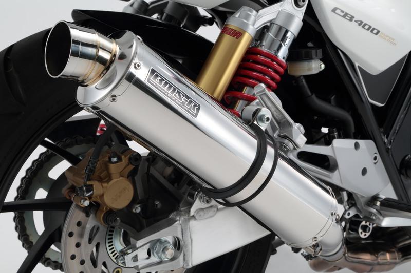 R-EVO-S(サイレント) スリップオンマフラー ステンレスサイレンサー 政府認証 BMS-R(ビームス) CB400SF・SB(2007~2017年)