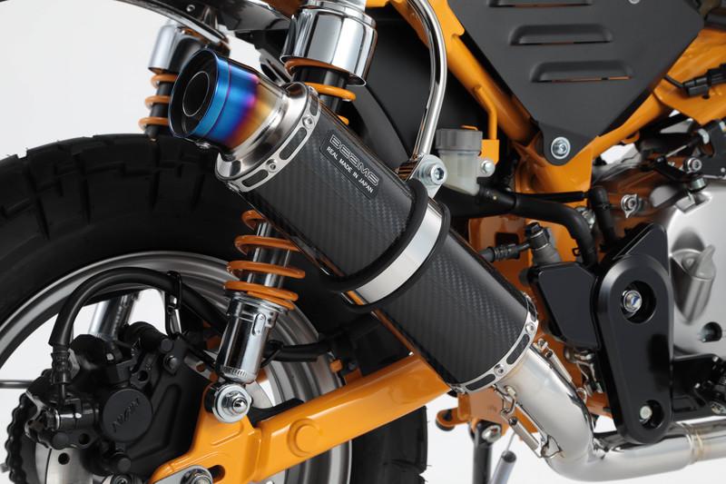 R-EVOカーボンサイレンサー 政府認証 BMS-R(ビームス) モンキー125(2BJ-JB02)