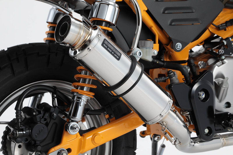 R-EVOステンレスサイレンサー 政府認証 BMS-R(ビームス) モンキー125(2BJ-JB02)