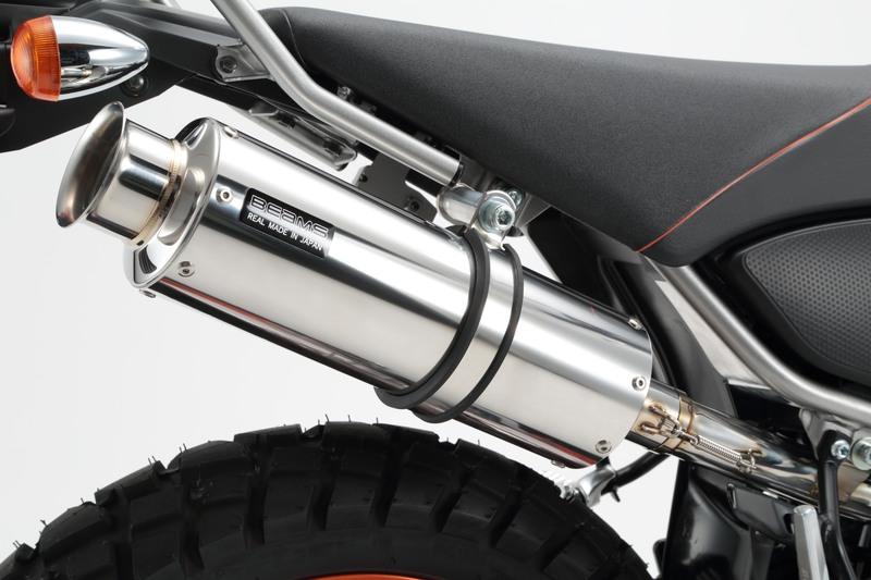 SS300ソニック スリップオンマフラー 政府認証 BMS-R(ビームス) トリッカー(2BK-DG32J)
