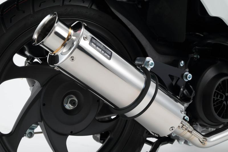SS300ソニックSP ステンレスマフラー 政府認証モデル BEAMS(ビームス) Dio110(ディオ110)JF58