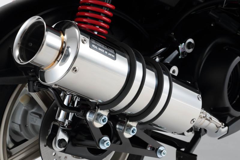 SS300ソニックSP(ステンレスマフラー) 政府認証モデル BEAMS(ビームス) シグナスX SR(CYGNUS-X SR)SEA5J/2BJ-SED8J