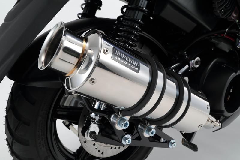 SS300ソニックSP ステンレスマフラー 政府認証モデル BEAMS(ビームス) ビーウィズ125(BWS125)SEA6J