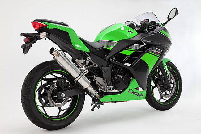 卸売 R-EVOステンレスポリッシュ スリップオンマフラー 政府認証 BMS-R(ビームス) Ninja250(ニンジャ 13~17年), シクロSHOP 9ae01e49