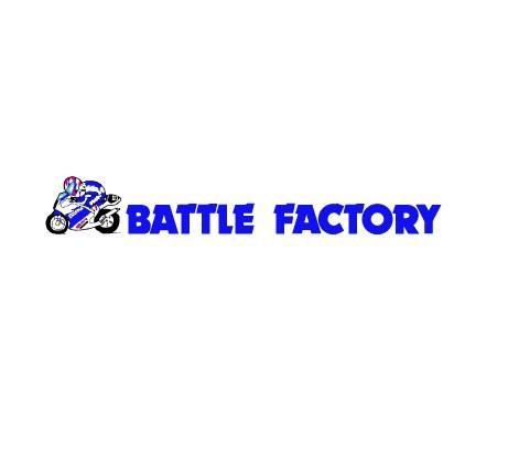 アルミ溶接ハンドル φ53.5垂れ角 5度 BATTLE FACTORY(バトルファクトリー)