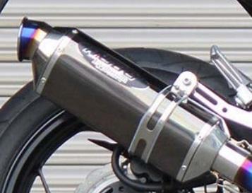 NASSERT Evolution(ナサート) フルエキゾーストマフラー チタン/ステンブラック BEET(ビート) Ninja250R(ニンジャ)