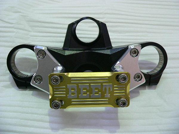 バーハンドルクランプキット(ブレース付き/ゴールド) BEET(ビート) NINJA ZX-14R