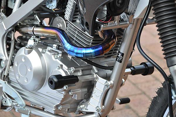 マシンプロテクター BEET(ビート) Dトラッカー125(D-TRACKER)