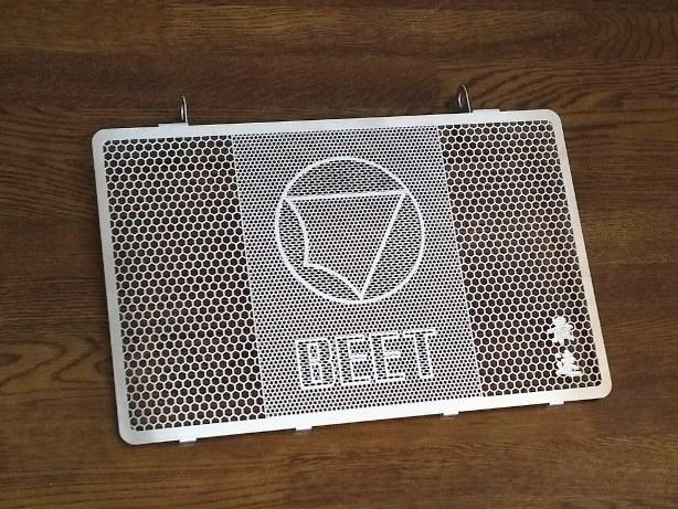 ラジエターコアガード BEET(ビート) ZRX1200 DAEG(ダエグ)