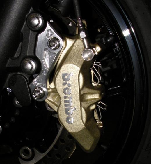 Brembo 65mm ピッチ 4POT 4PAD キャリパーセット BEET(ビート) Ninja400R(ニンジャ)
