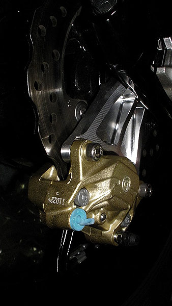 Brembo 2POT リアキャリパーセット(ゴールド) BEET(ビート) Ninja400R(ニンジャ)