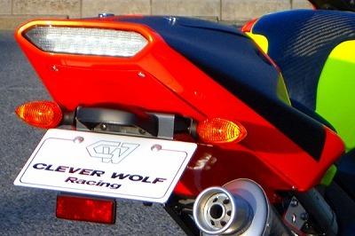 ストリートシートカウル CLEVER WOLF RACING(クレバーウルフレーシング) YZF-R1(02~03年)