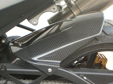 リアフェンダー カーボン平織 CLEVER WOLF RACING(クレバーウルフレーシング) ZX-10R(04~05年)