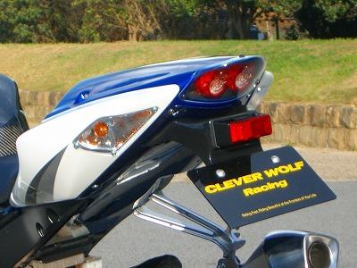 ストリートシートAssy CLEVER WOLF RACING(クレバーウルフレーシング) GSX-R1000(05~06年)