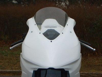 スクリーン CLEVER WOLF RACING(クレバーウルフレーシング) CBR1000RR(06~07年)