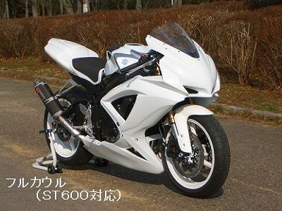 フルカウル CLEVER WOLF RACING(クレバーウルフレーシング) GSX-R600(08~10年)