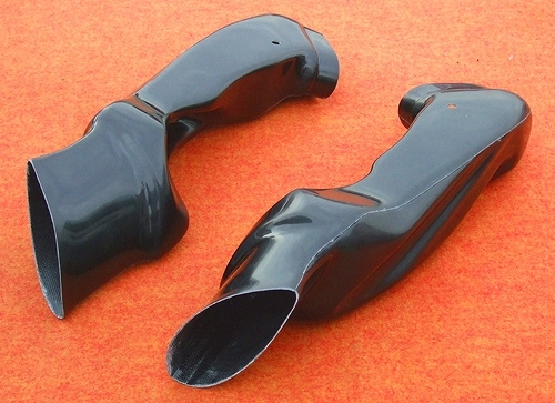 エアーダクトセット 黒FRP CLEVER WOLF RACING(クレバーウルフレーシング) GSX-R1000(09年~)