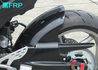 リアフェンダー(ストリート用) 黒FRP CLEVER WOLF RACING(クレバーウルフレーシング) YZF-R1(09~14年)
