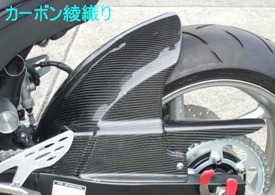 リアフェンダー(ストリート用) カーボン綾織 CLEVER WOLF RACING(クレバーウルフレーシング) YZF-R1(09~14年)